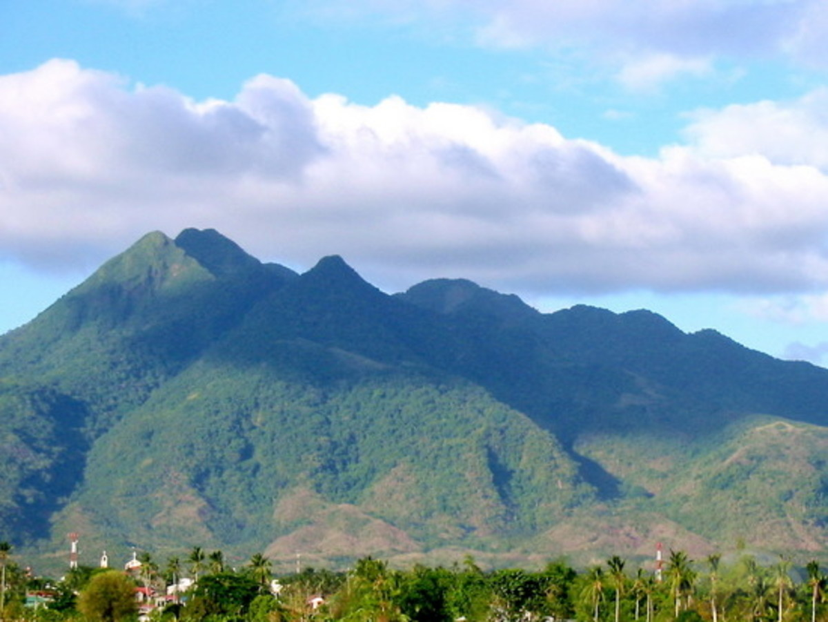 The enchanted mountain of Makiling