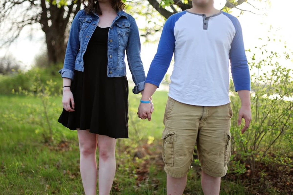 Walking in the woods is great for couples in platonic relationships, but stopping for rest, water, or other reasons, cannot be tolerated.