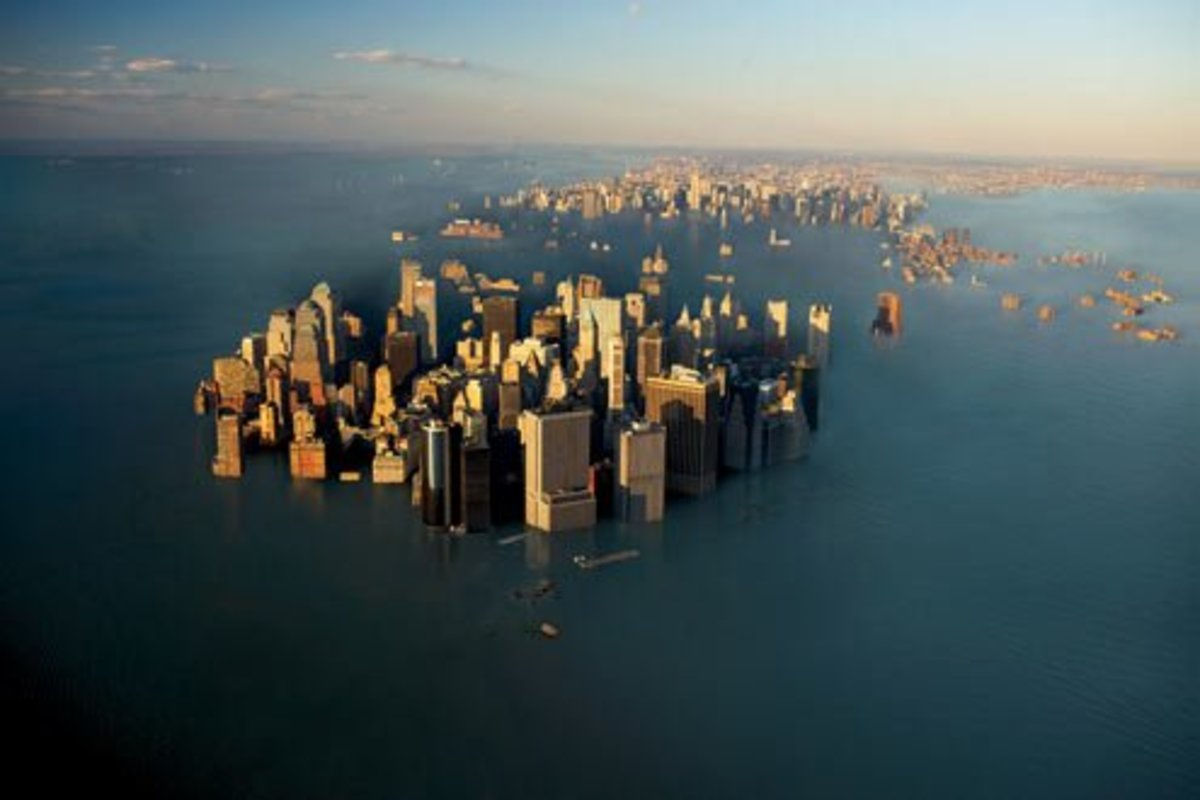 New York Under Water