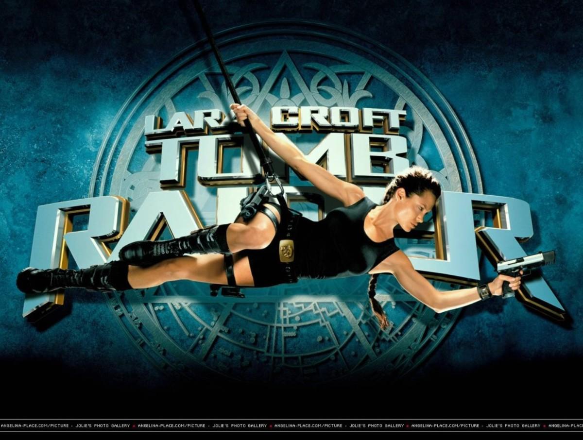 Lara Croft: Tomb Raider (2001) - Portrayed by Angelina Jolie