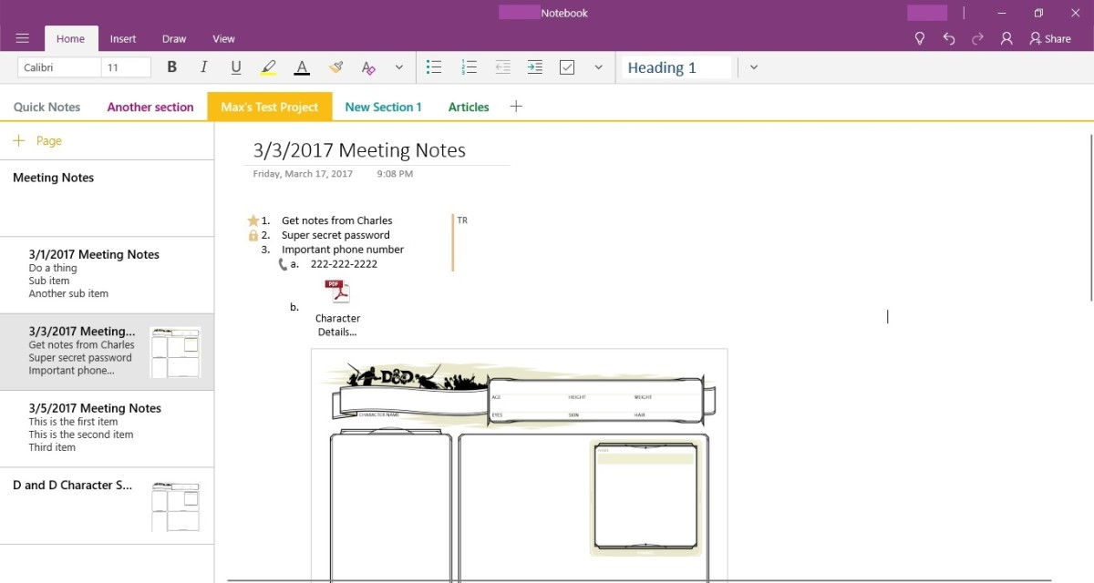 Double-click the PDF file icon to open the PDF outside of OneNote.