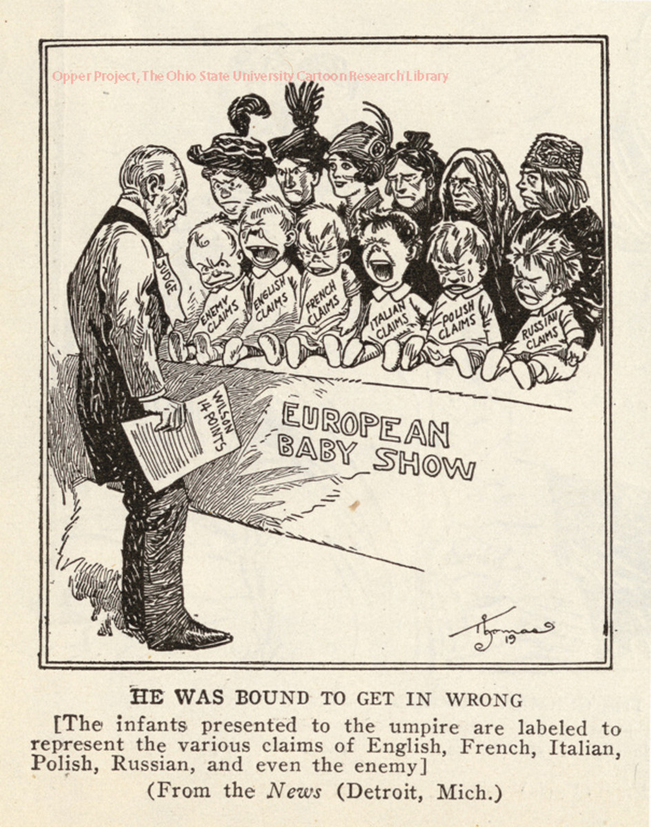 1919 commentators were not unaware of the challenge that juggling the host of different national interests presented.