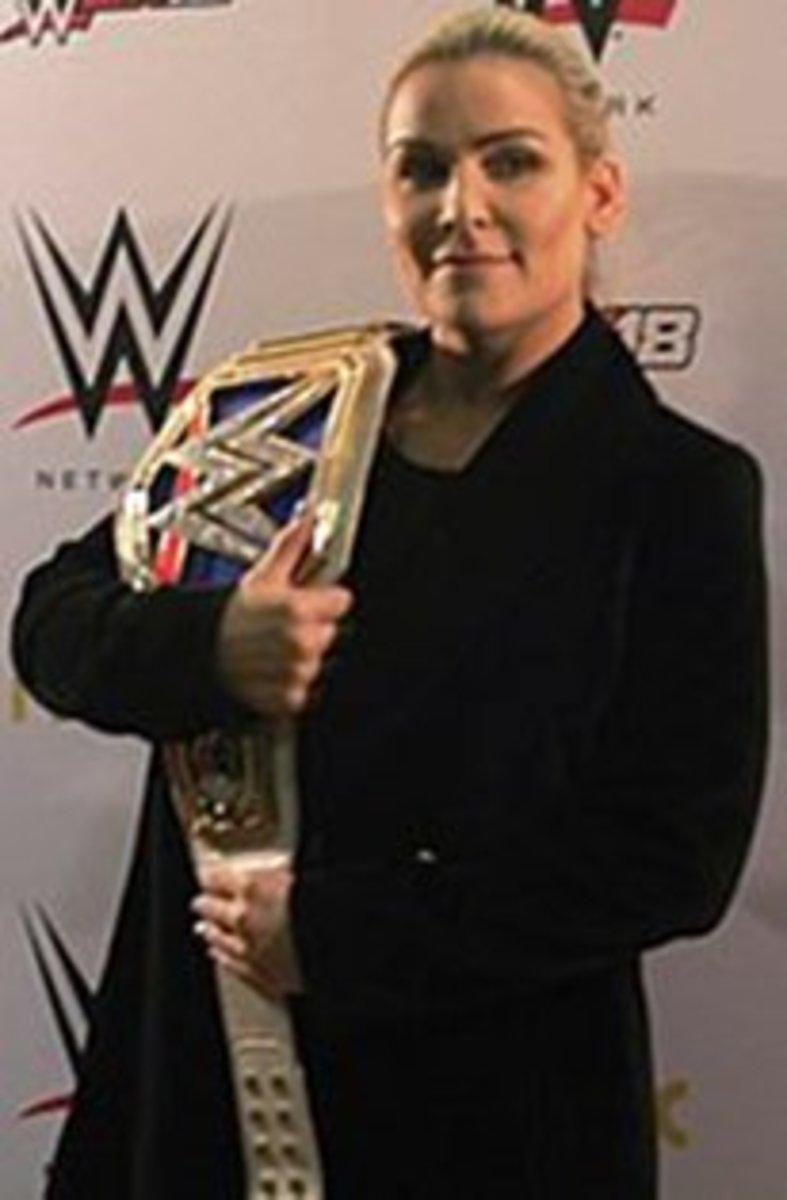 Natalya Neidhart as WWE SD Live Womens Champion.
