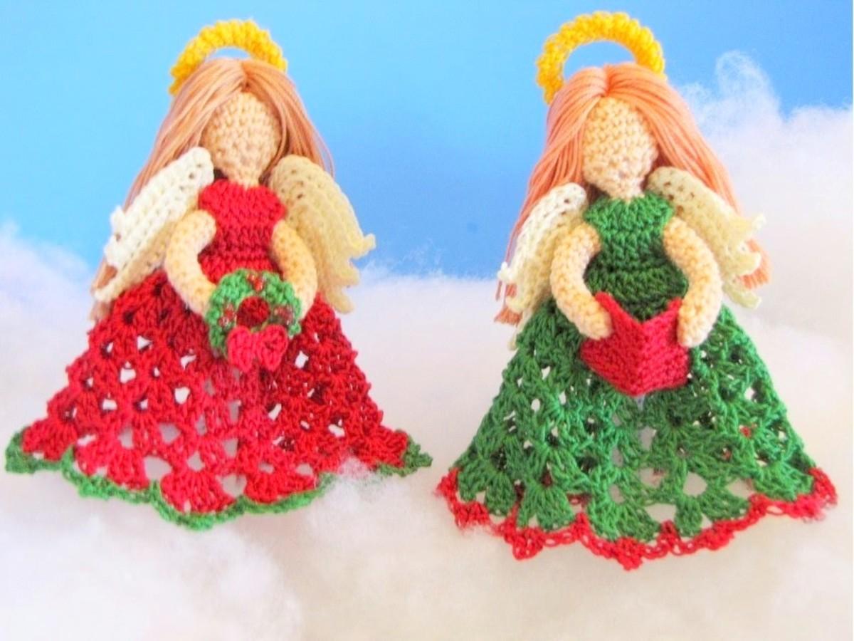 free-amigurumi-christmas-angel-patterns