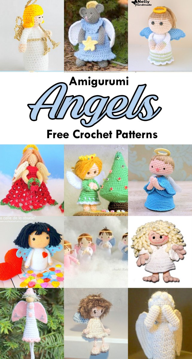 18 Free Amigurumi Christmas Angel Patterns