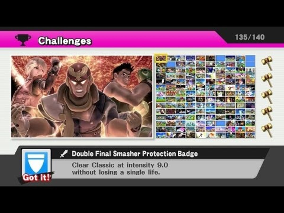 The challenge grid