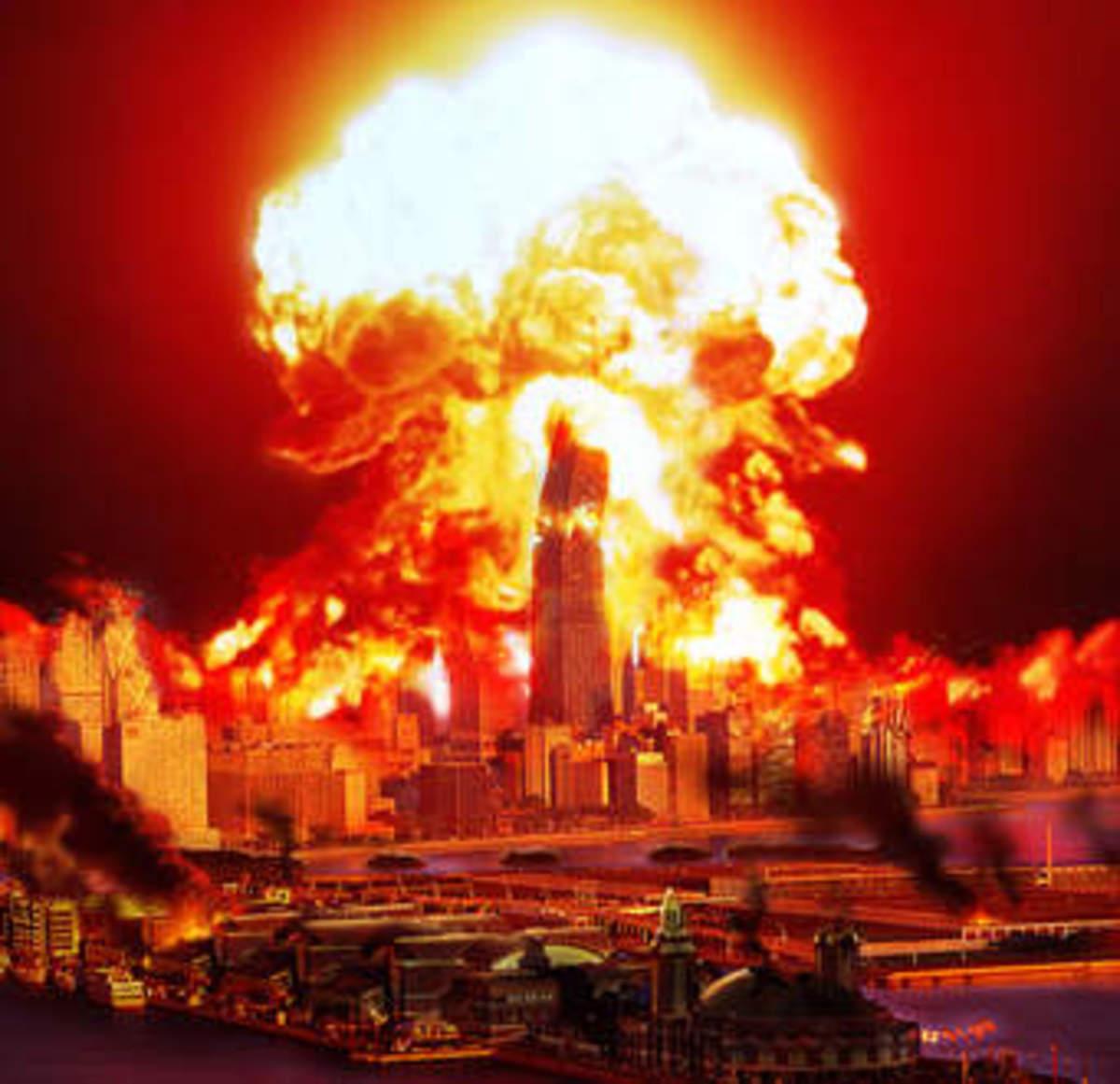 Earth's Destruction by fire