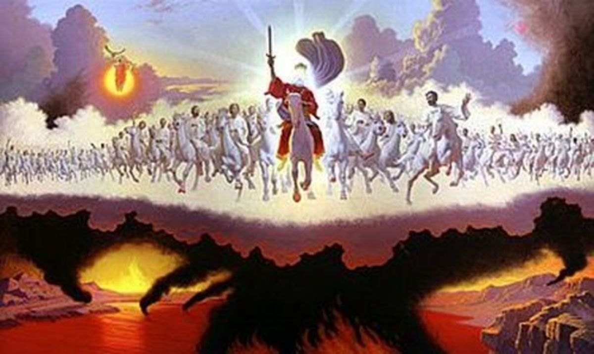 Return of Christ As Conqueror & Judge
