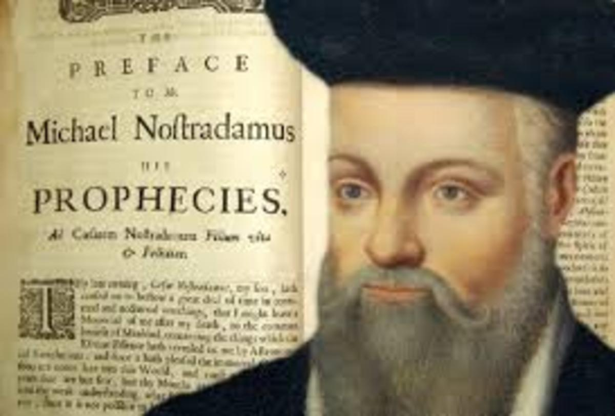 Picture of the Famous Nostradamus