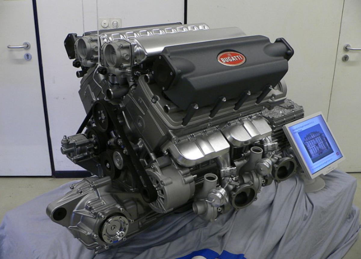 Bugatti Veron Engine