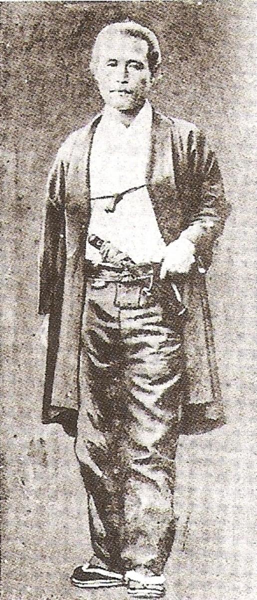 Katsu Kaishu, the son of Katsu Kokichi