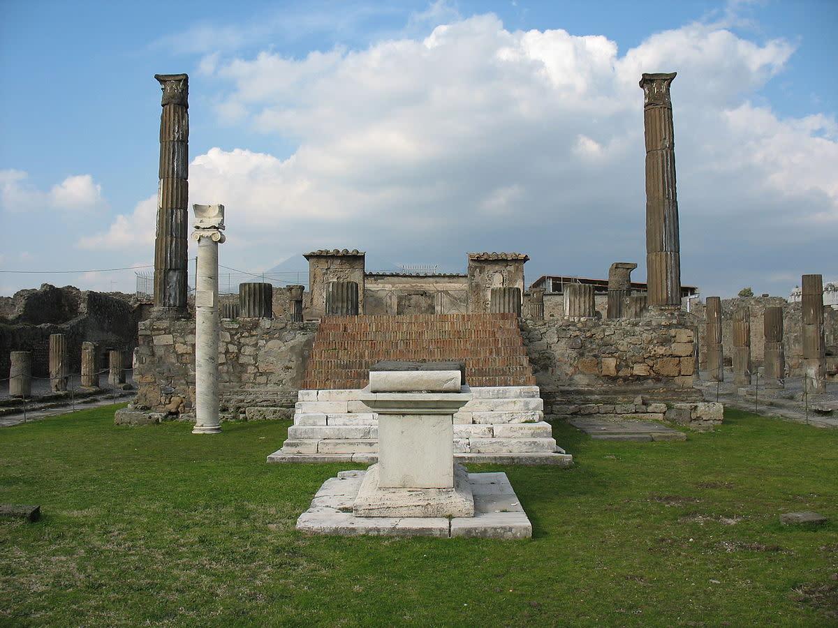 Temple of Apollo at Pompeii