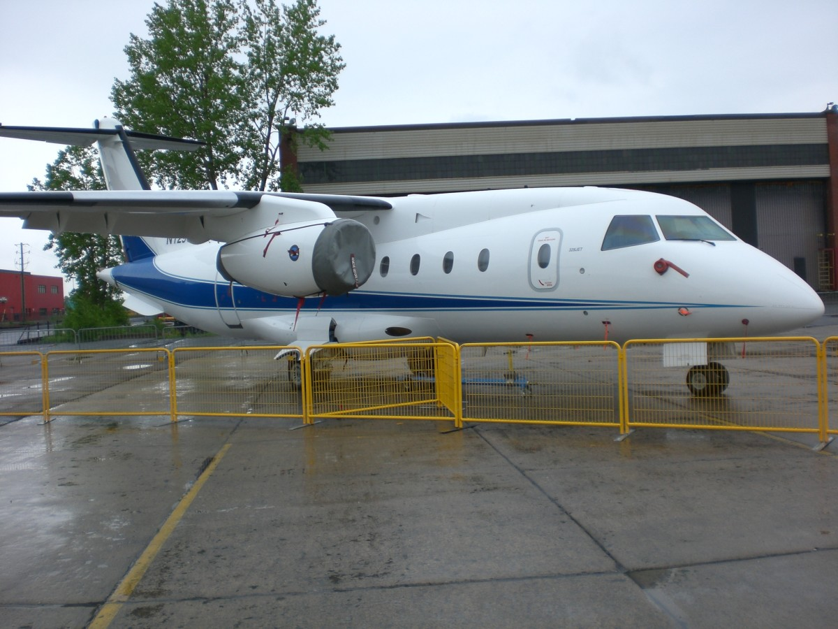 Dornier 328 at Saint-Hubert Airport