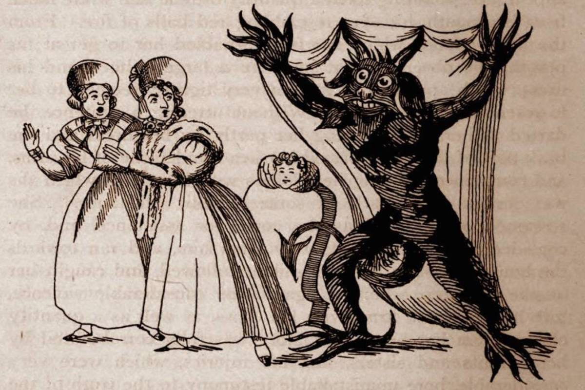 Sensationalised by London Press, Spring-Heeled Jack was feared as a Devil