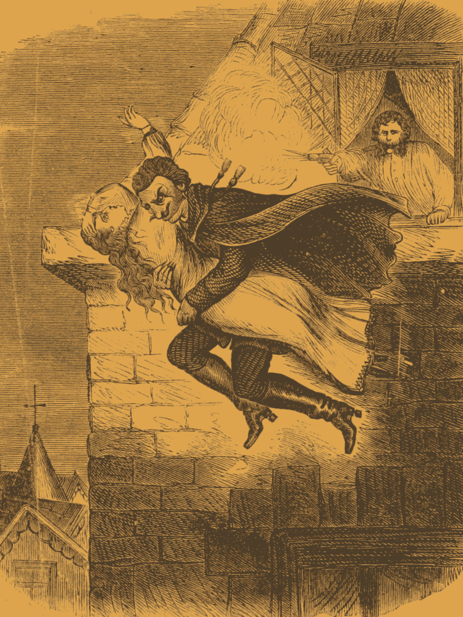 Spring-Heeled Jack strikes again!
