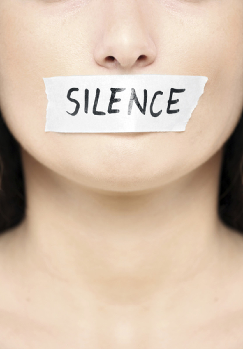 There are times you should talk and times you should be silent.