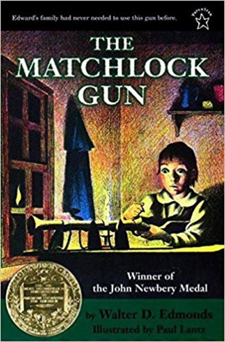 The Matchlock Gun by Walter D. Edmonds - Book images are from amazon .com.