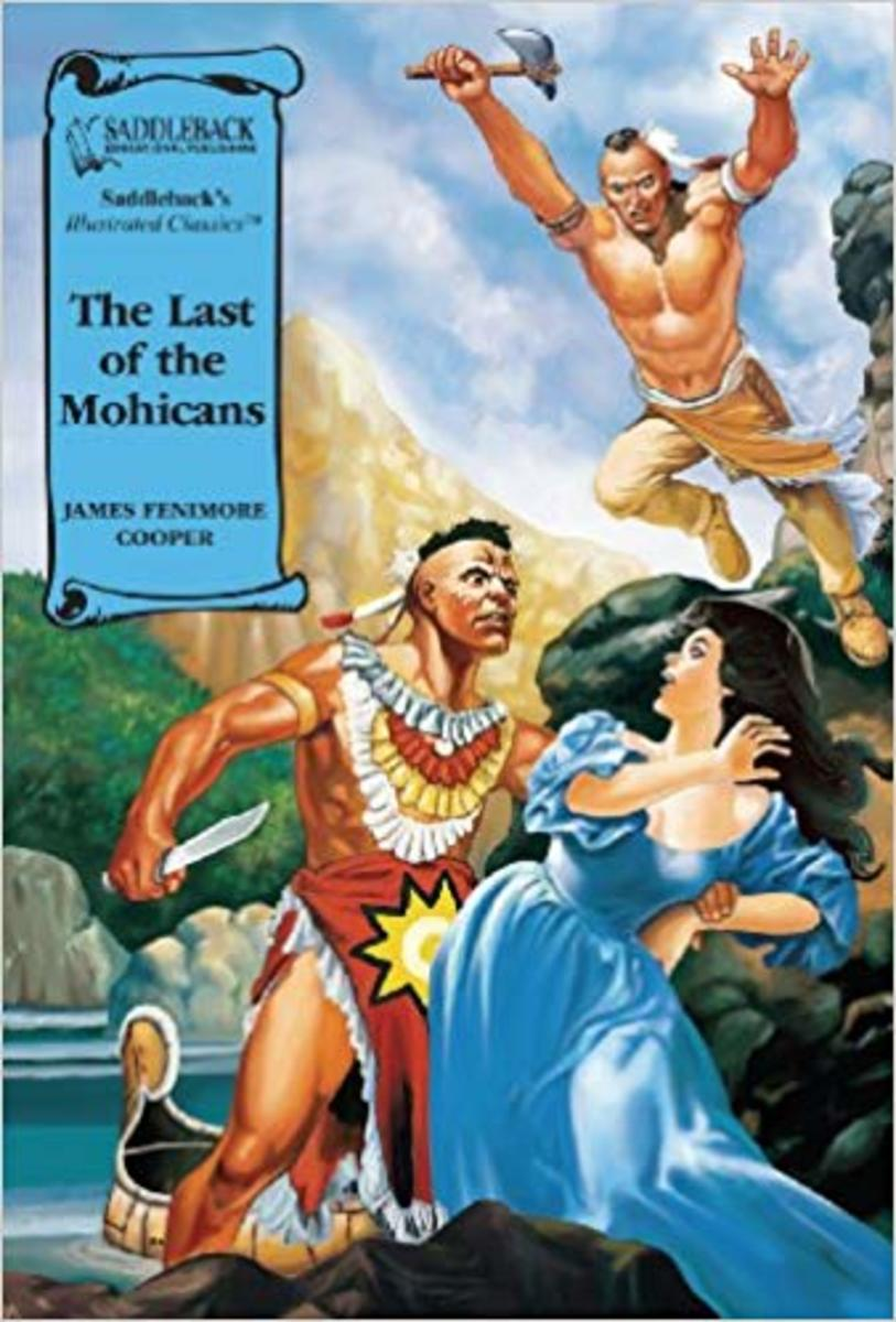 The Last of the Mohicans (Saddleback's Illustrated Classics) by James Fenimore Cooper