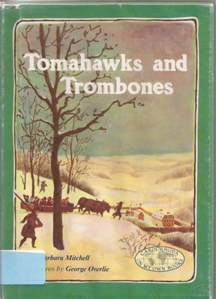 Tomahawks and Trombones by Barbara Mitchell - This book images is from goodreads .com.