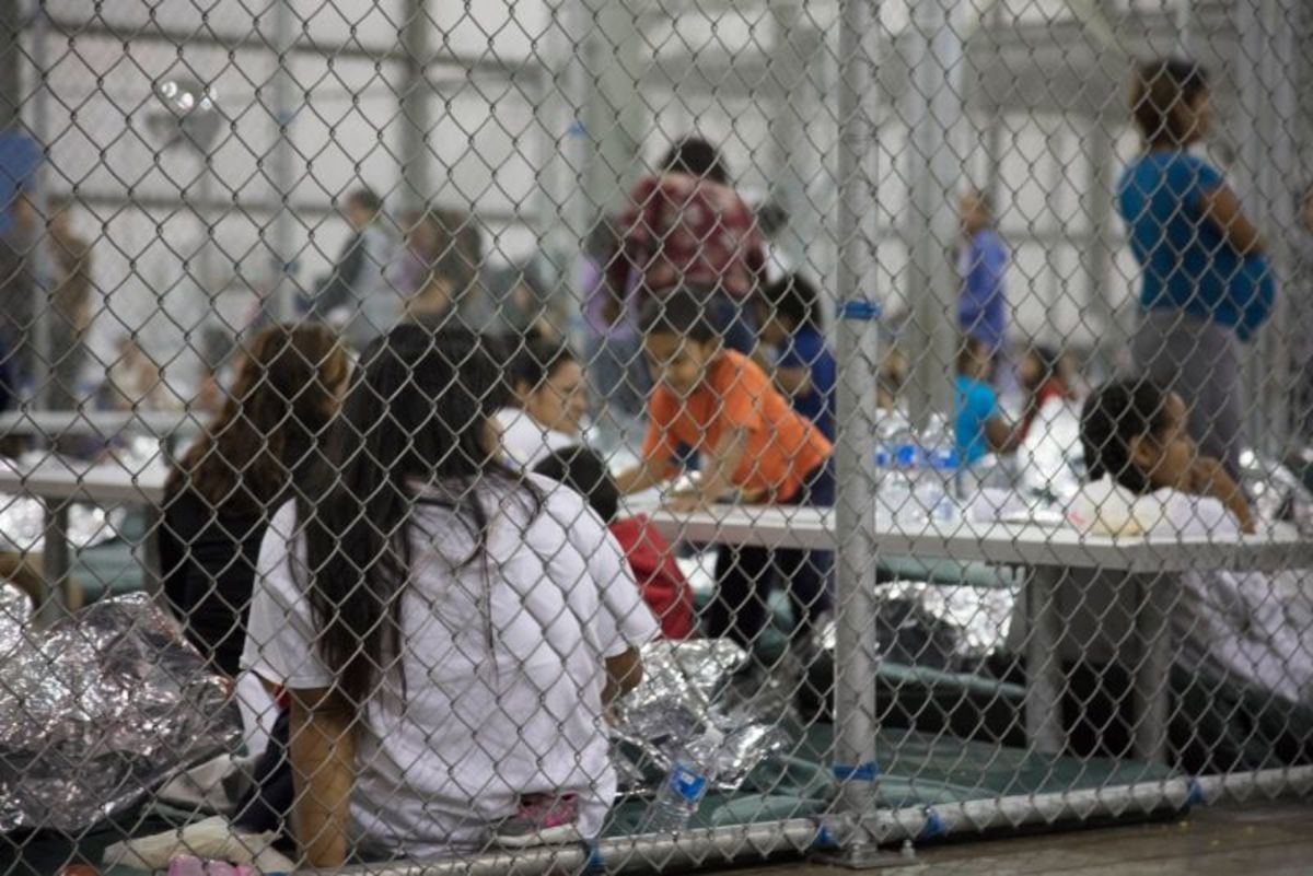 Child Detention Center in Texas.