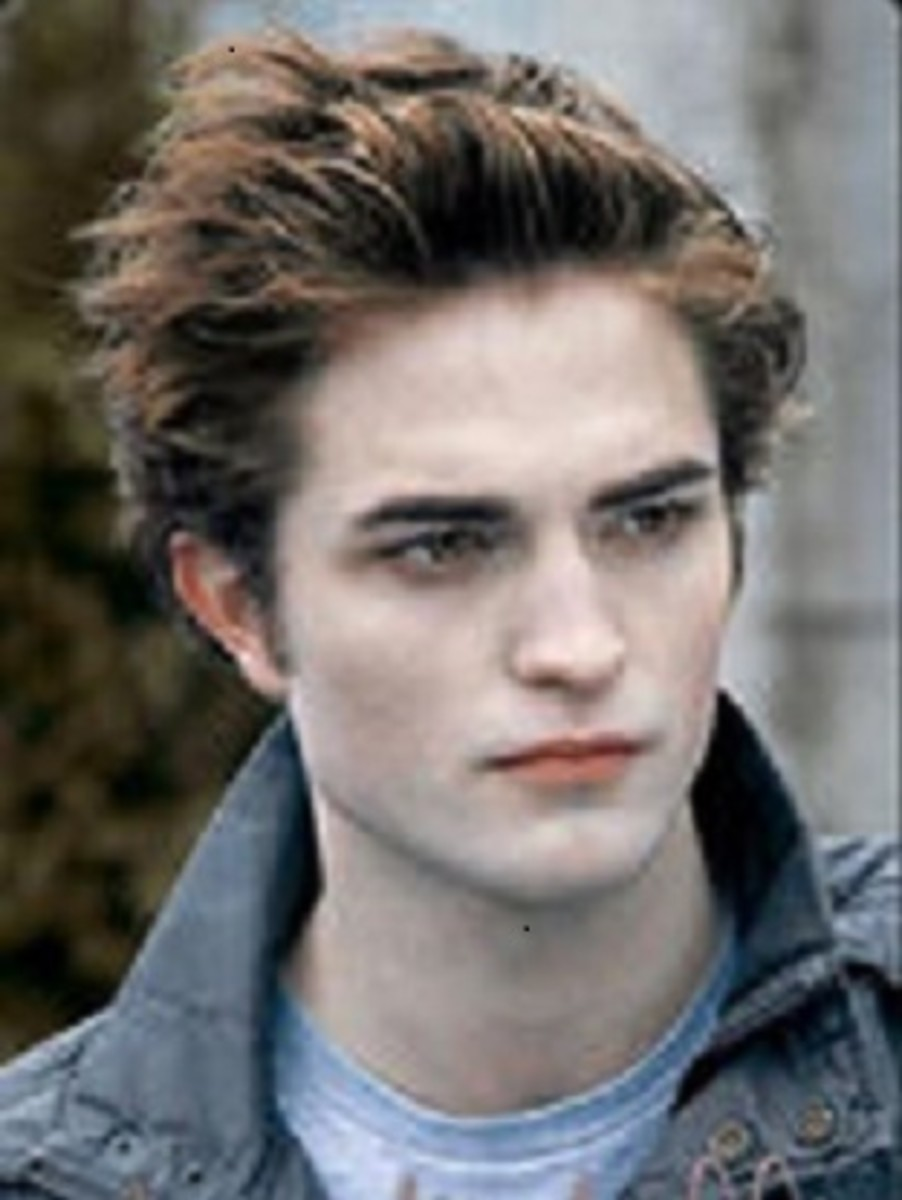 In Twilight Edward Cullen is tormented by his existence, and love for Bella.