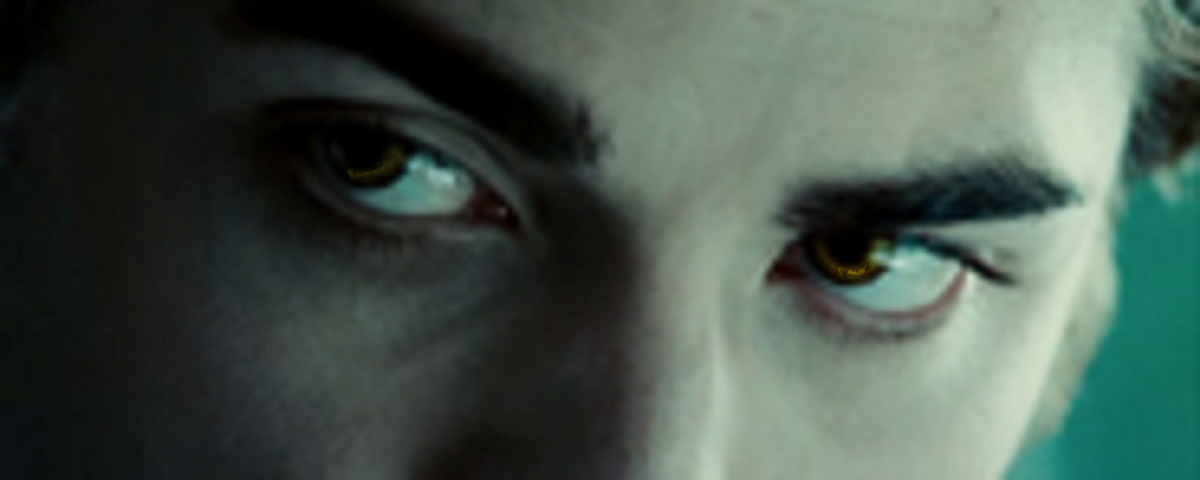 The Cullen family's eyes are gold, because they only choose to hunt animals.