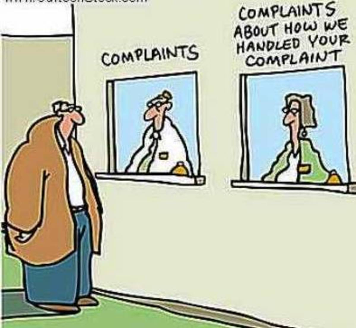Are you receiving bad customer service or are you just a bad customer?