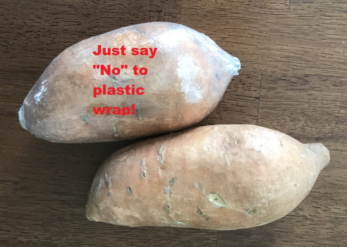 Avoid vegetables, or anything else, that are wrapped in plastic when it doesn't have to be.