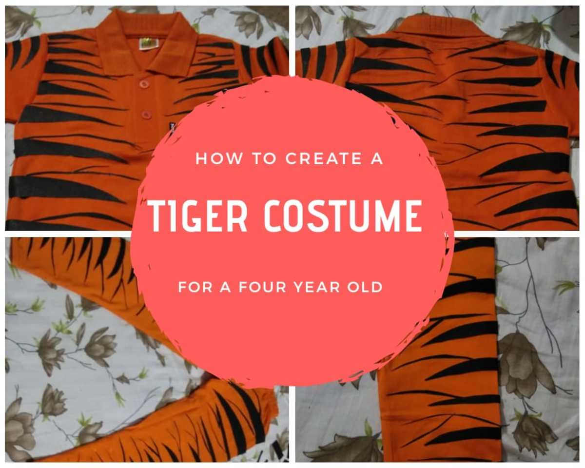 How to Make A Tiger Costume for Your Child