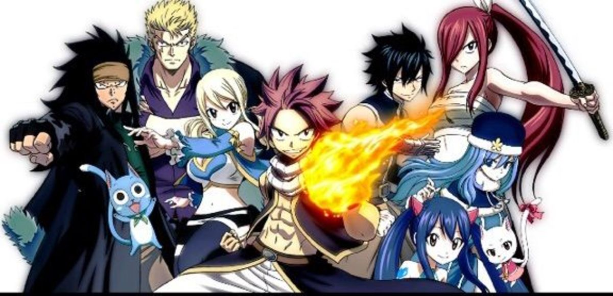Top 10 Funniest Characters In Fairy Tail Hubpages