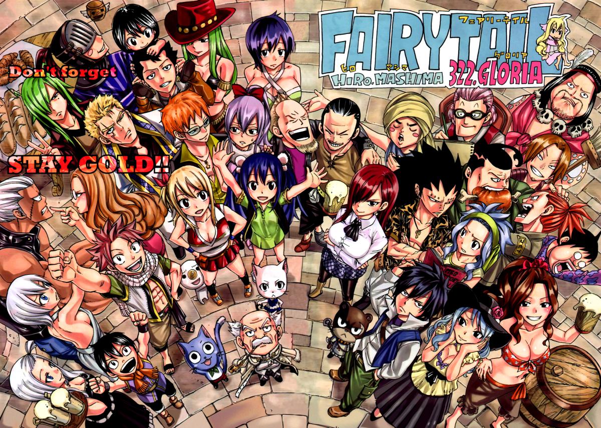 10 Karakter Paling Lucu Di Fairy Tail Versi Ane