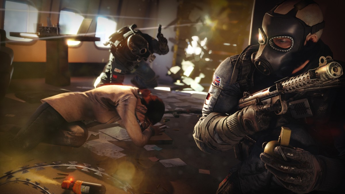 Where does Thatcher (left) and Sledge (right) rank amongst the list of best Rainbow Six Siege operators?