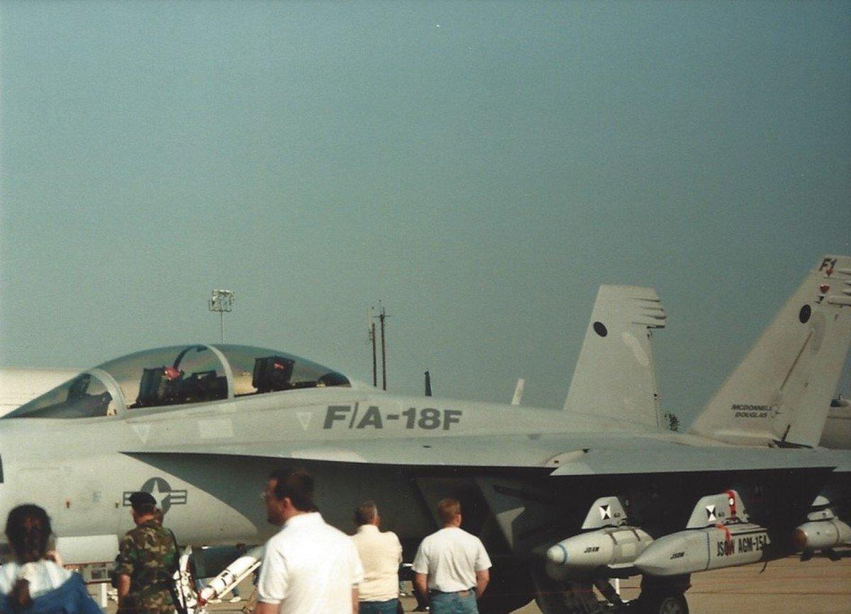 An F/A-18F Super Hornet