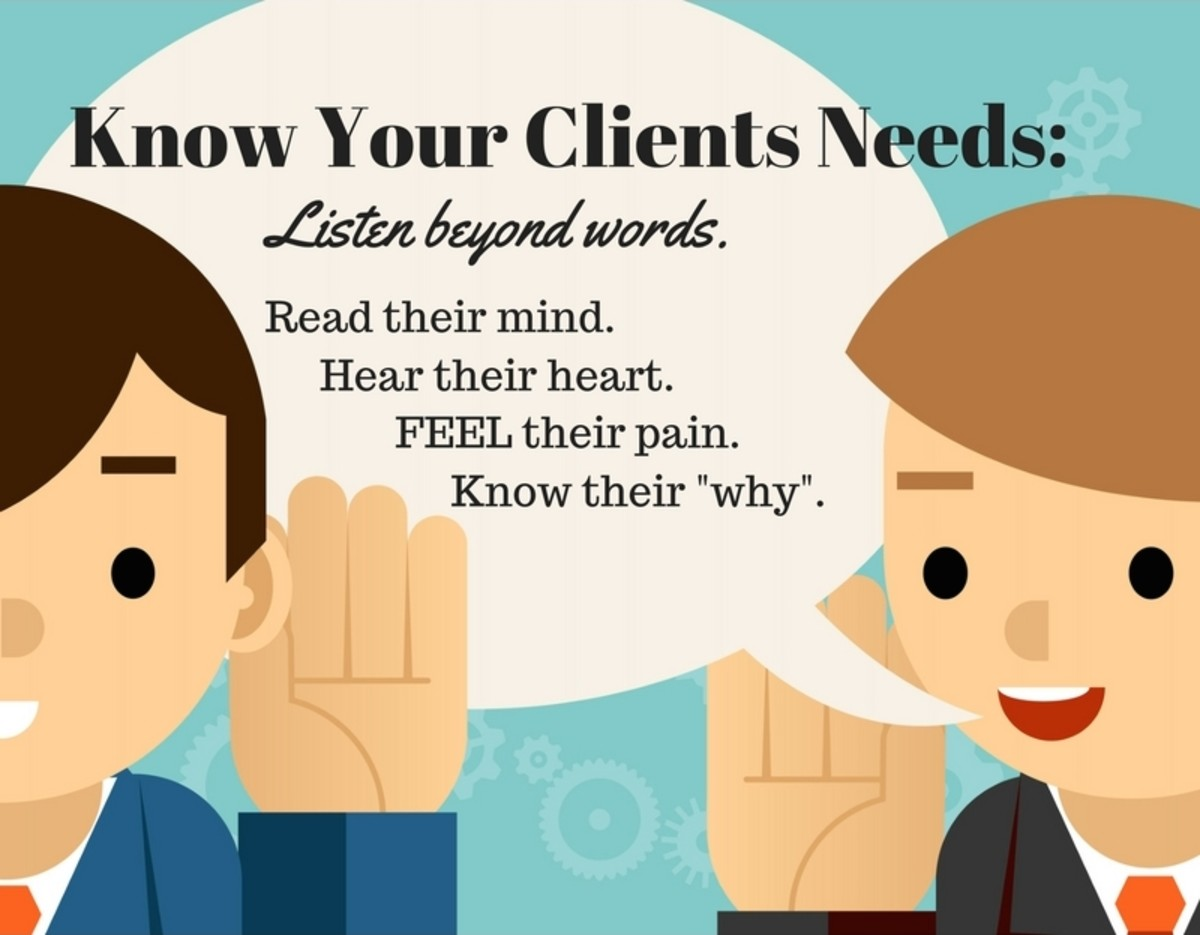 Know your Target Clients