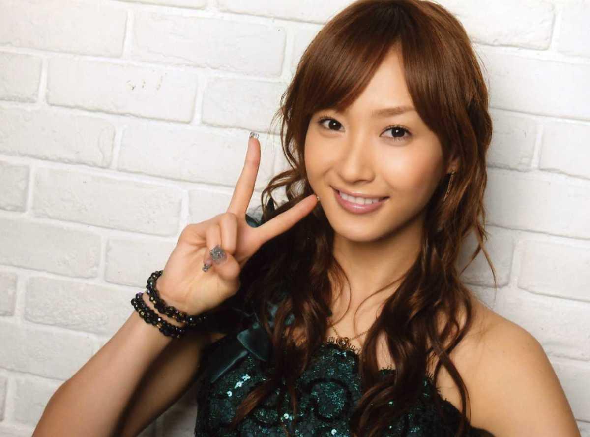 Miki Fujimoto Beautiful J Pop Singer & Former Member of the Girl Group Morning Musume