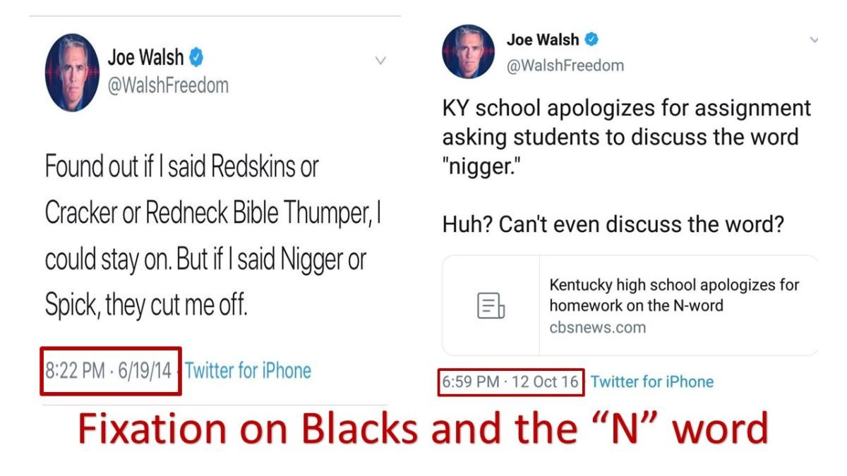 Joe Walsh tweets