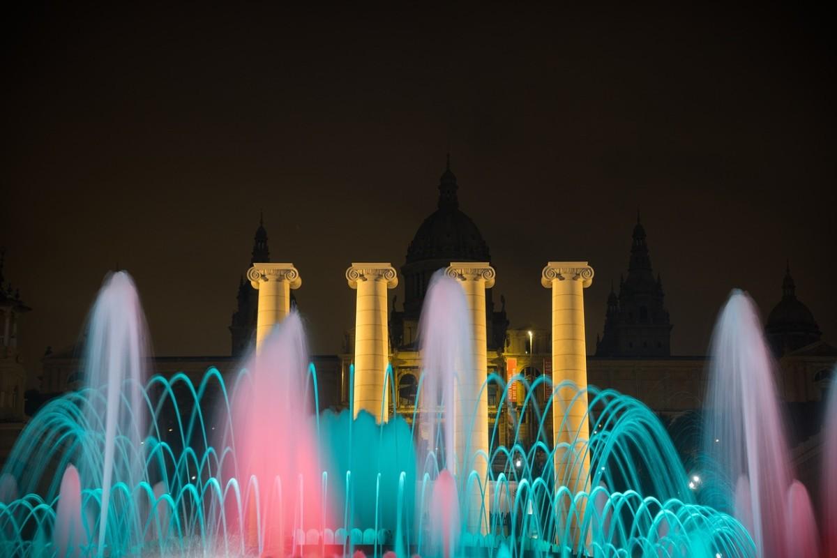 Magic Fountain, Montjuic