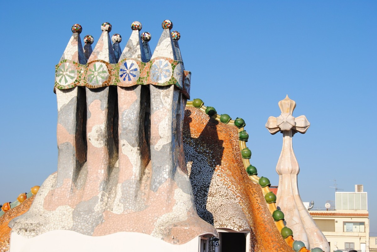 Slight View of Roof of Casa Batllo