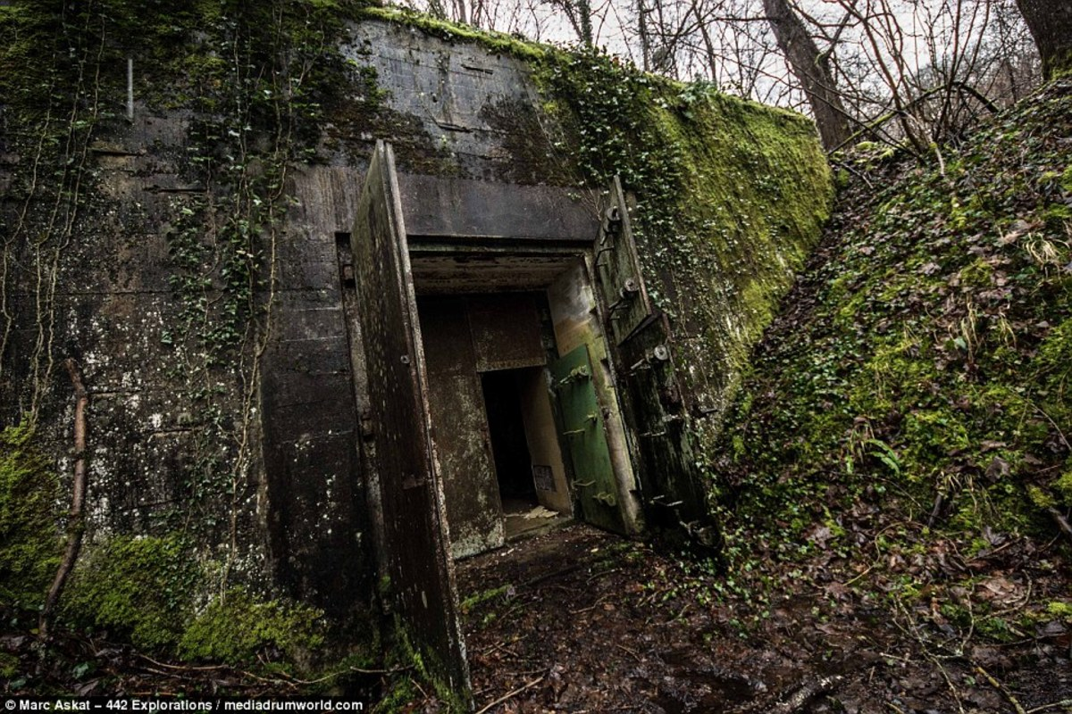 Hitlers command post in France now
