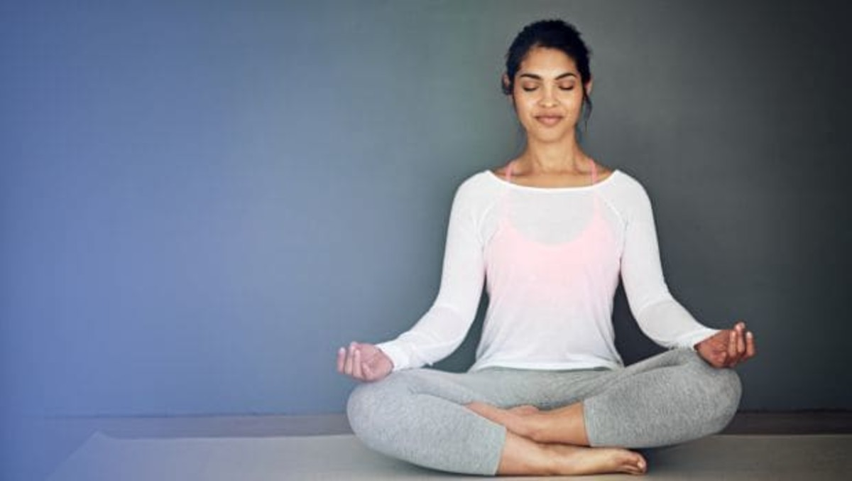 Sukhasana and Pranayama (Sitting and Breathing)