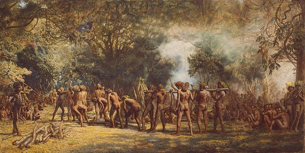 Cannibal Feast 1885-1889