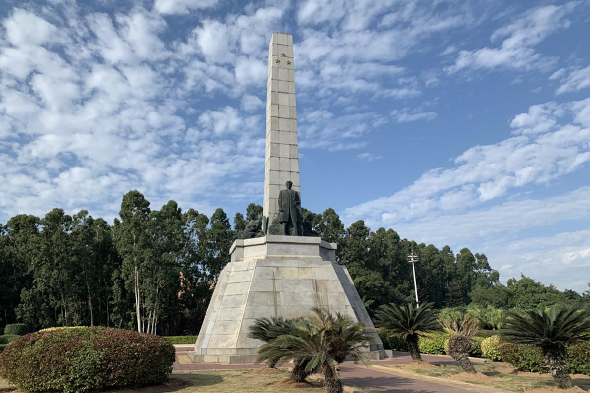 Rizal's shrine in Fujian, China.