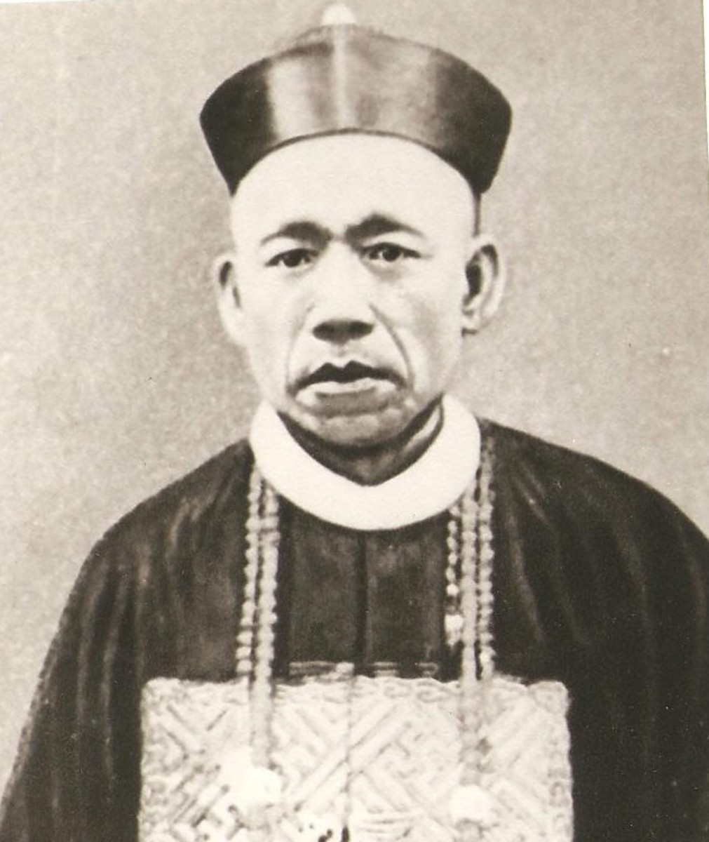 Carlos Palanca, a successful businessman and a known opium dealer.
