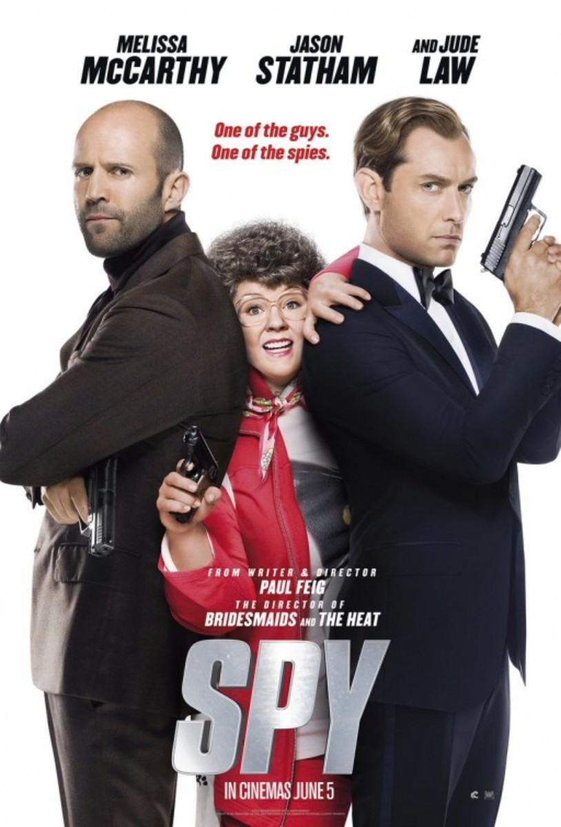 Spy (2015) Film Review