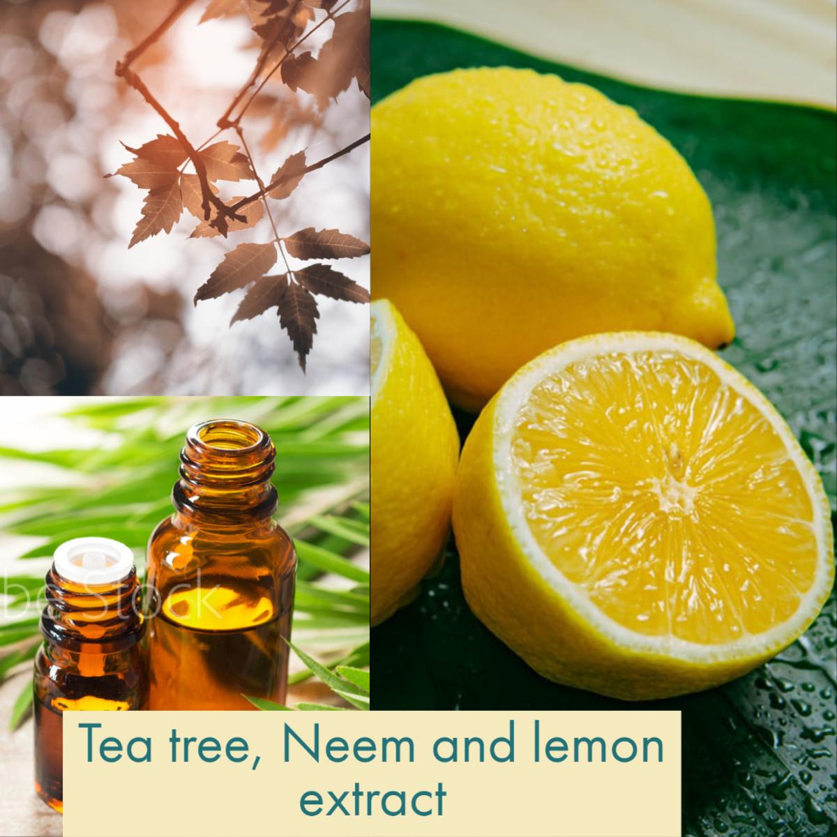 Ingredients for facewash