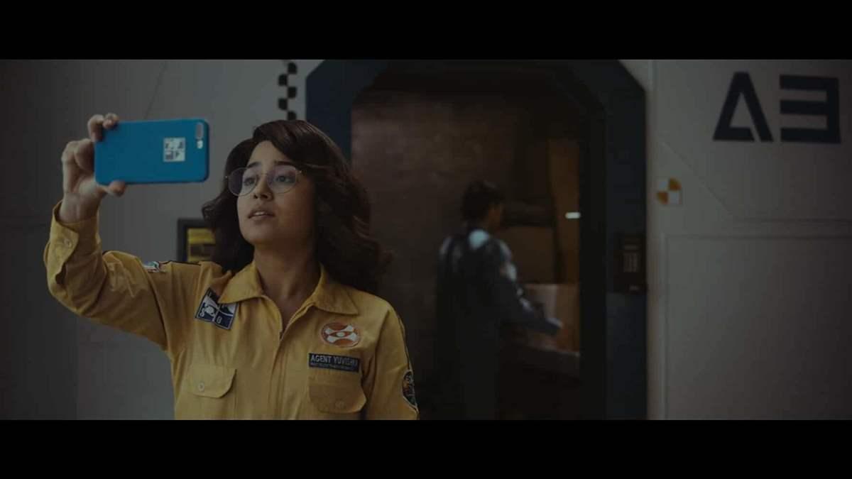 Shweta Tripathi as Yuvishka Shekhar in Cargo.