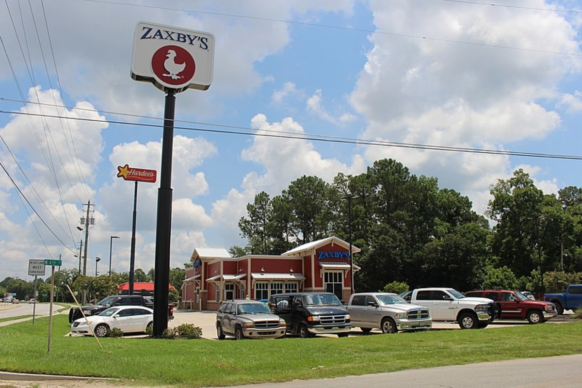 Review of Zaxby's Fast Food Chain