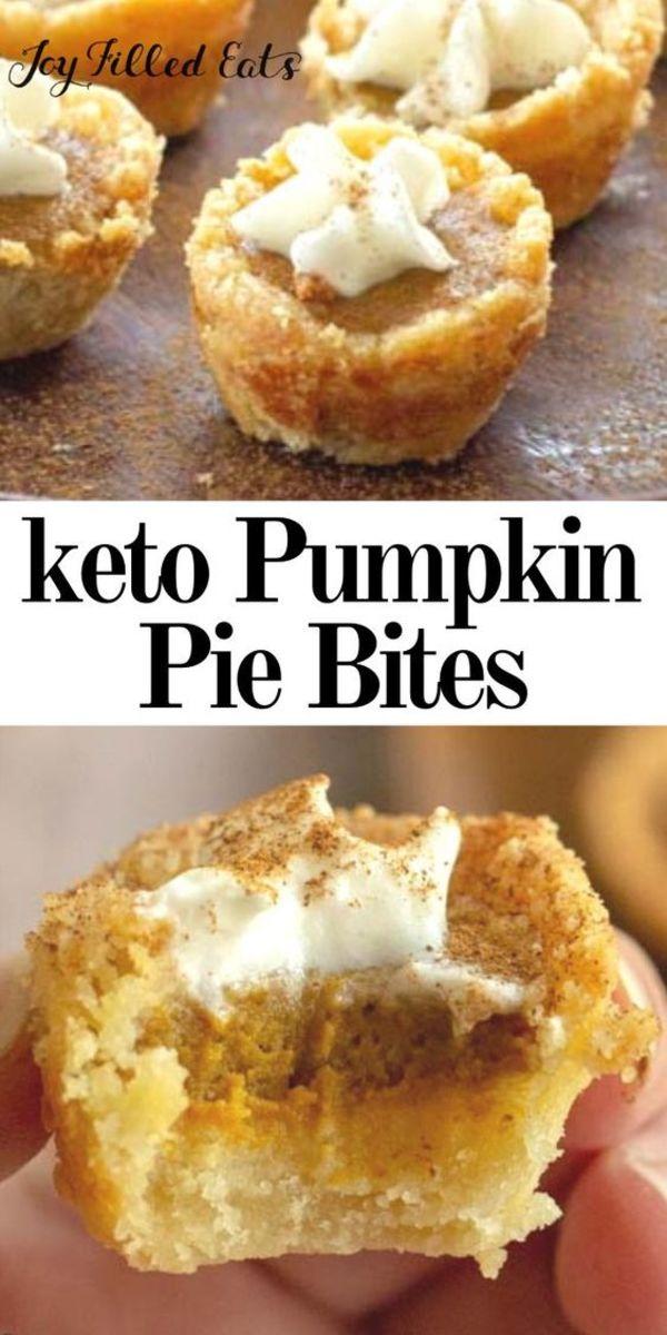 Keto Pumpkin Pie Bites joyfilledeats.com