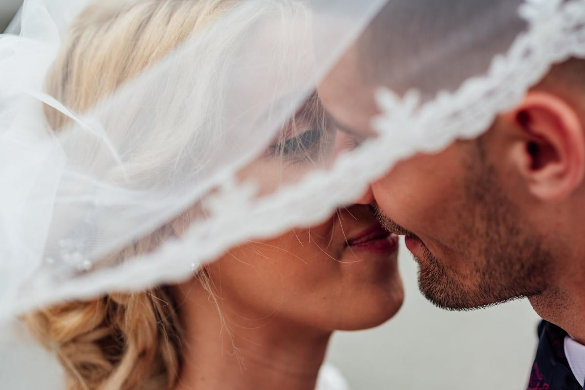 Was it a kiss on your wedding day?