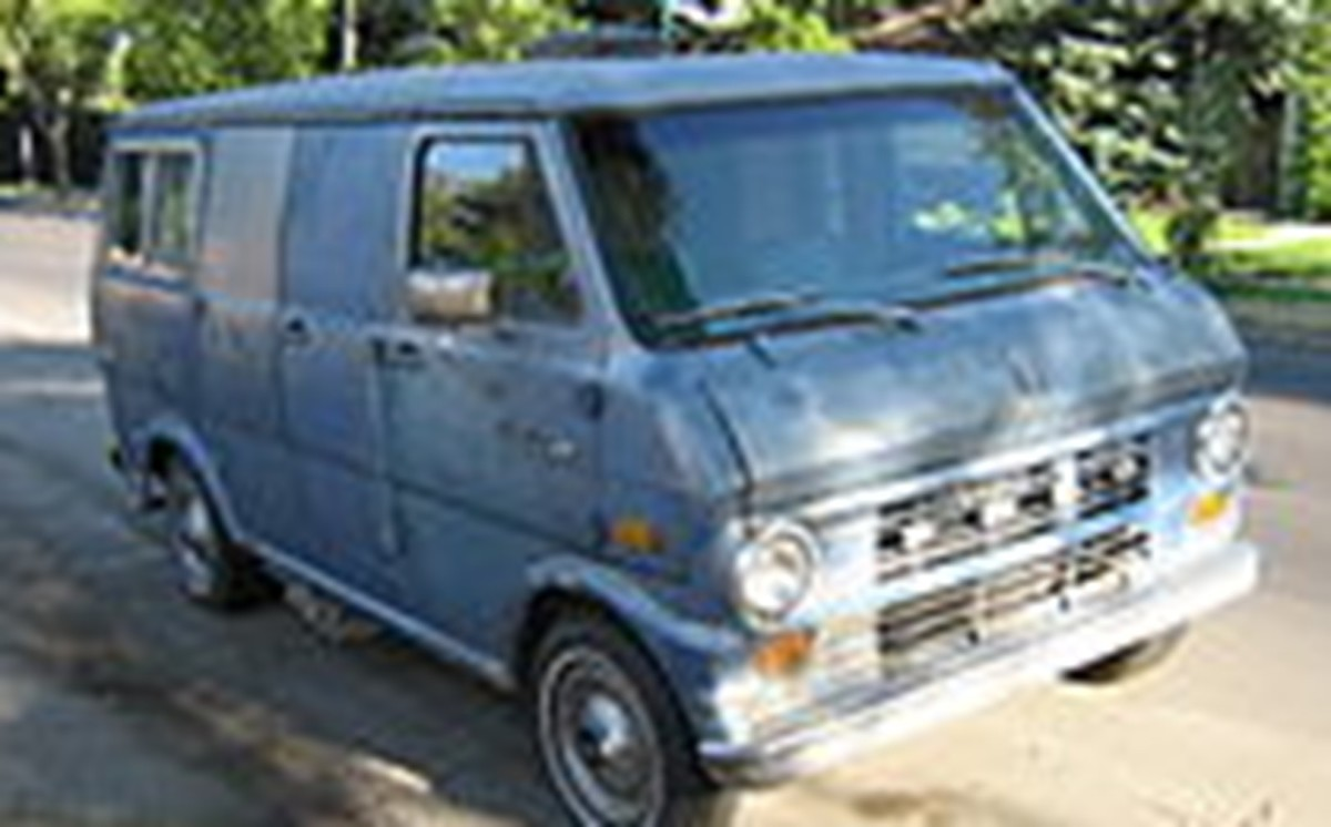 A van similar to the one Bonin drove to commit dozens of murders in California during the 1970-1980s.